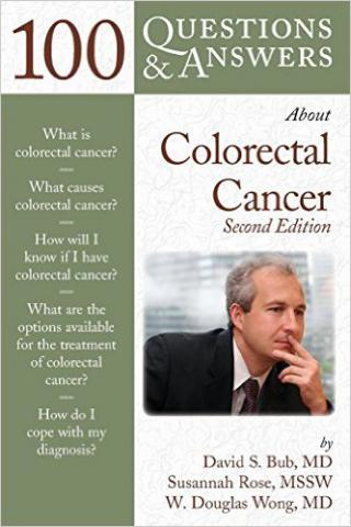 Cover of 100 Questions and Answers About Colorectal Cancer