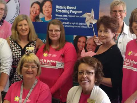 Mammogram blitz held this past summer